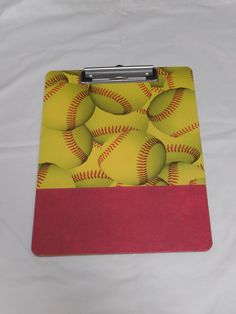Softball Clipboard by designsbyshelby on Etsy