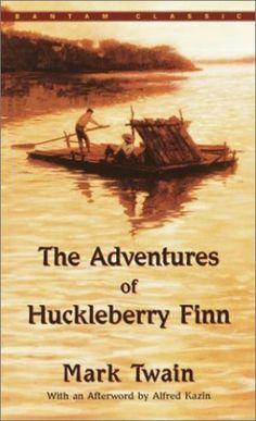 Adventures of Huckleberry Finn by Mark Twain - The best books for teens - book list.jpg