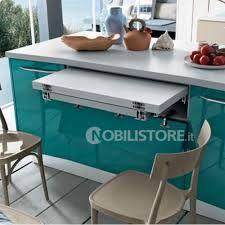 Tavolo Estraibile - Dibiesse cucine di design | Small Space Ideas ...