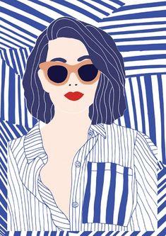 40 Ideas for pop art design poster Art And Illustration, Illustration Design Graphique, People Illustration, Portrait Illustration, Art Graphique, Book Illustrations, Fashion Illustrations, Inspiration Art, Art Inspo