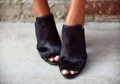 Pony Hair Shoes
