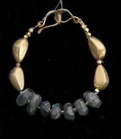 Labradorite necklace Contemporary Jewelry by Phyllis Clark Designs
