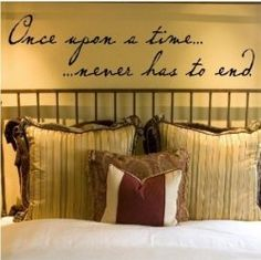 Wall Quotes for the Bedroom