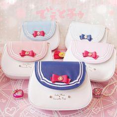 Harajuku Sweet Sailor moon shoulder messenger bag