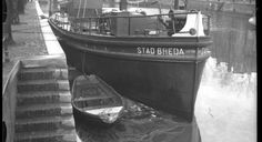 STAD BREDA IN DEHAVEN  Een origineel beurtschip met de naam Stad Breda is bewaard gebleven.