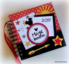 2017 80 pgs PERSONALIZED  Disney Autograph book and scrapbook combo by secondsisterdesigns