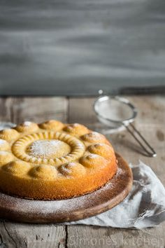 "The ""zeeuwse knop"" and almond orange cake  