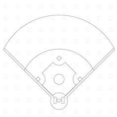 Baseball Field Diagram Printable Layout Diamond Cake cakepins.com ...
