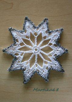 Crochet Angels, Crochet Stars, Crochet Snowflakes, Crochet Flowers, Christmas Crochet Patterns, Crochet Christmas Ornaments, Christmas Snowflakes, Christmas Crafts, Crochet Motifs