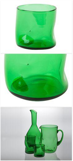 Glasses Set 'Bugnato' by Segno Italiano