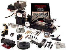 "3.5″ x 8″ Machine Lathe with Adjustable ""Zero"" Handwheels Package Deals."