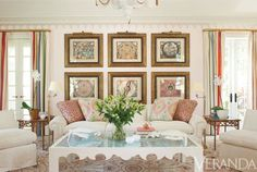 The Glam Pad: Laura Ashley's Former Lyford Cay Beach House, Transformed