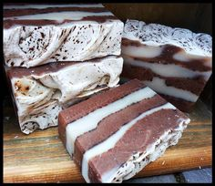 The Warrior Handmade Soap by FuturePrimitive Soap Co. I love the layers and the description just sounds fabulous!