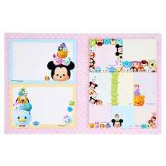 tsum tsum sticky notes <3