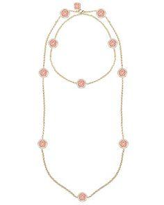 Terrill Long Necklace in Tangerine - Kendra Scott Jewelry. Coming soon!
