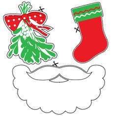 Mr Christmas Photo props - Mr Christmas Props - free to download and great fun for a Christmas party.
