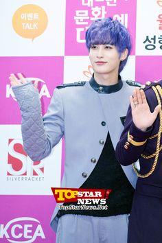 Block B's Jaehyo, 'A shining handsome face'… Jaehyo Block B, B Bomb, Korean Shows, Handsome Faces, Korean Music, Korean Celebrities, Minhyuk, Blue Hair, Boy Groups