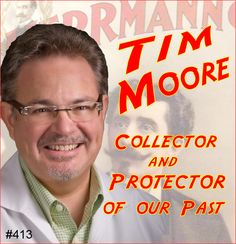 Columbus, Ohio magic collector, Dr. Tim Moore talks about his passion, how he got started, what he specializes in collecting, and what he intends to do with his collection after he's gone.