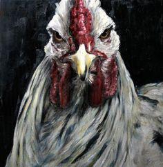 Nanouk Weijnen, beeldend kunstenaar: Elvis kippen (column Landleven )