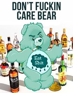 The don't care bears…