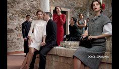 Kampania Dolce & Gabbana jesień-zima 2013/14, fot. Domenico Dolce