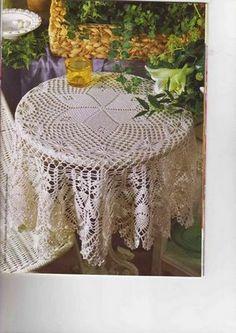 Toalha de mesa redonda foto e grafico (http://zuleikacroche.blogspot.com.br/)