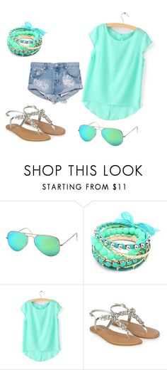 """""""Untitled #30"""" by istyle5 ❤ liked on Polyvore featuring Ray-Ban, Ruby Rocks, Monsoon and One Teaspoon"""