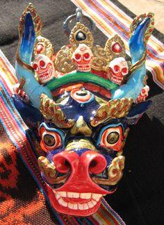 MASKS OF TEBET | ... Masks, Thai Khon Mask, Tibetan Wrathful Deity Mask, Barong Masks