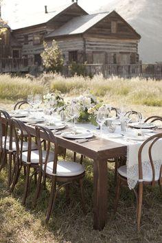 Table à la ferme