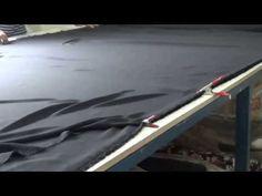 Como cortar tecidos finos - YouTube
