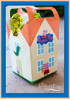 Peppa Pig Favor Box