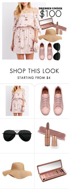"""Dress under $100"" by strxwberrybanshee ❤ liked on Polyvore featuring Charlotte Russe, Old Navy and Urban Decay"