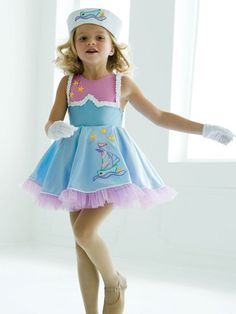 Good Ship Lollipop - Style 060 | Revolution Dancewear Children's Dance Recital Costume