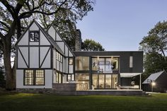 Business in the Front, Party in the Back: 5 Traditional Homes that Got Super-Modern Additions — Dwell