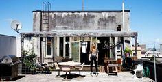 La terrasse de Charlotte Rust par Todd Selby