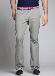 Grey Dogs | Bonobos 100% Cotton Boot Cut Grey Washed Chinos - Bonobos Men's Clothes - Pants, Shirts and Suits