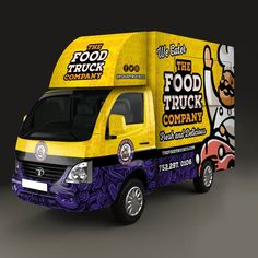Need the Greatest Food Truck Design EVER! We are launching a food truck in the state of Goa, India. The menu will be Burgers, Sandwiches, Rolls & Wraps. The targe Mobile Food Cart, Mobile Food Trucks, Food Cart Design, Food Truck Design, Coffee Food Truck, Wrap Advertising, Pizza Truck, Best Food Trucks, Food Truck Business