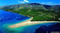 Brac ist die flächenmäßig größte dalmatinische Insel  http://www.e-kroatien.de/brac  #brac #kroatien #dalmatien #insel #adria #urlaub #GoldenenHorn