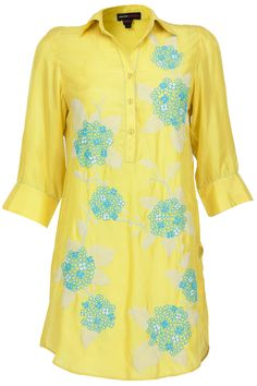 Flower and branches tunic available only at Pernia's Pop-Up Shop.