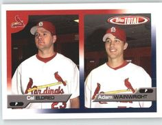 2005 Topps Total #613 Cal Eldred / Adam Wainwright - St. Louis Cardinals (Prospect) (Baseball Cards) by Topps Total. $0.88. 2005 Topps Total #613 Cal Eldred / Adam Wainwright - St. Louis Cardinals (Prospect) (Baseball Cards)