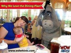 Wondering if the Disney Dining plan is right for your family?  Here's why one family loves it!  ~ WDW Hints