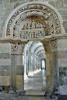 Vezlay Abbey France