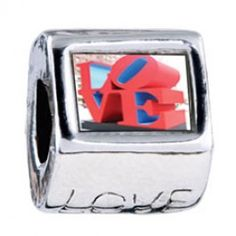 Love Sculpture Photo Love Charms  Fit pandora,trollbeads,chamilia,biagi,soufeel and any customized bracelet/necklaces. #Jewelry #Fashion #Silver# handcraft #DIY #Accessory