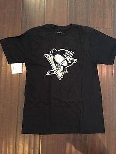 NHL Pittsburgh Penguins Men s Wright and Ditson Large T-Shirt  www.mancavesonline.com 8704215b4