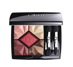 Dior 5 Couleurs Precious Rocks Eyeshadow Palette, Holiday Look Collection - Ruby Eyeshadow Brushes, Eyeshadow Makeup, Eyeliner, Makeup Palette, Eyeshadow Palette, Christian Dior, Arch Brows, Holiday Makeup, Holiday Looks