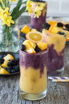 Hawaiian Berry Smoothie