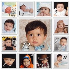 Baby Growth 1day old 1 month old 2 months old 3 months old 4 months old 5 months old cute baby photo ideas Marcelo_Leonel Instagram born 4/26/13 San Antonio baby Mother's name is Hope baby pictures photography monthly growth