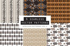 African Seamles Patterns by Youandigraphics on Pattern Drawing, Creative Sketches, Pencil Illustration, Paint Markers, Business Card Logo, Vector Pattern, Watercolor And Ink, Textures Patterns, Painting & Drawing