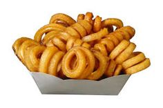"Curly fries - as ""Roller Coasters"""