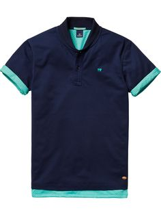 Sportive Polo | Polo's | Men Clothing at Scotch & Soda
